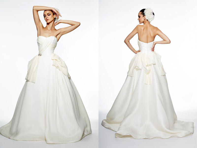 Satin Ball Gown Wedding Dress: Say Yes To Satin Dresses