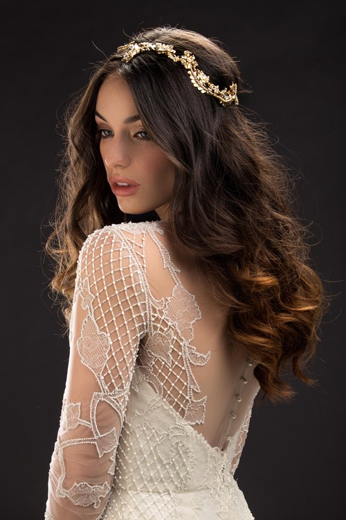 Maria-Elena-Headpieces-and-Accessories Kleinfeld Bridal