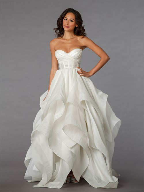 Pnina Tornai Sweetheart Ball Gown