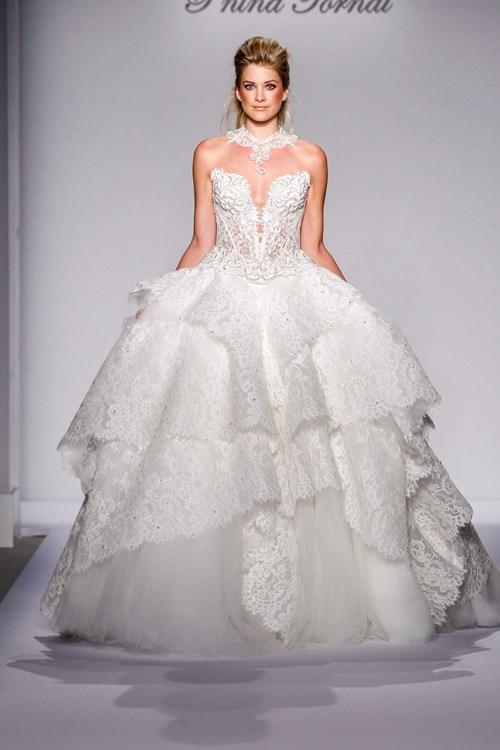 4 perfect pairs kleinfeld paper invitations pnina for Pnina tornai wedding dresses