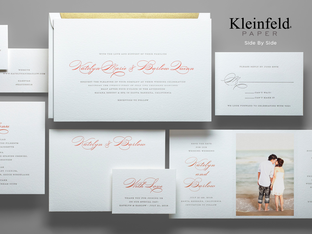"""Side by Side"" by Kleinfeld Paper"